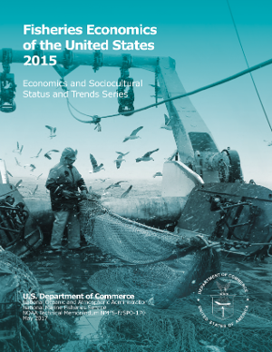Cover of Fisheries Economics of the United States, 2015